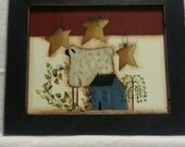Sheep Saltbox Star house Sugarbucket design