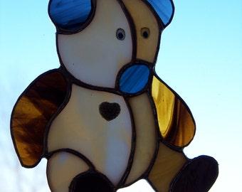 Teddy Bear Suncatcher