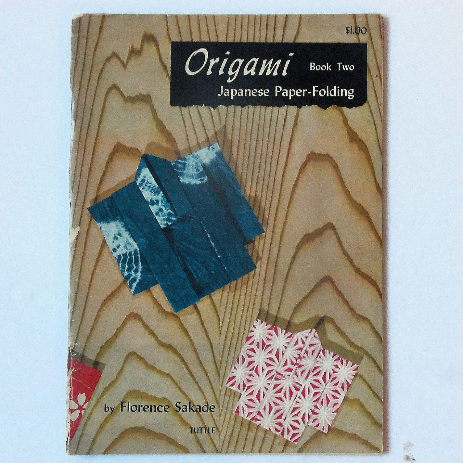 Origami Book Two Japanese Paper Folding 1950s Florence ... - photo#11