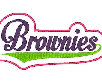 Brownies Headband Slider design Instant Download
