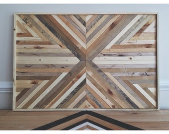 Reclaimed Natural Wood Wall Art
