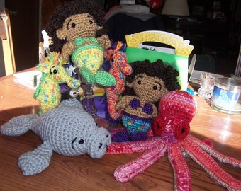 Nevaeh and Bryanna's SeaKeeper Mermaid Doll and Sea Friends