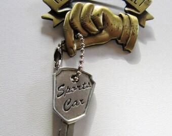 JJ Jonette Happy Sweet Sixteen Car Keys