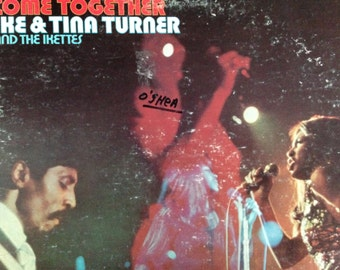 Ike and Tina Turner  and the Ikettes - Come Together - vinyl record