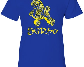 Sigma Gamma Rho Tribal Blue T-Shirt