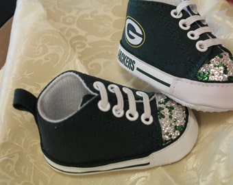 Custom Sneakers, Custom Baby Shoes, Green Bay Packers Shoes, Crib Shoes, Baby Shoes, Green Bay Packers Baby, Go Packers, Milwaukee, Baby