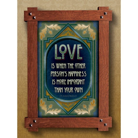 Arts And Crafts Framed Print Love Subject Great For Arts And