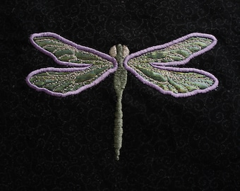 Dragonfly Embroidery Design- Digital Download