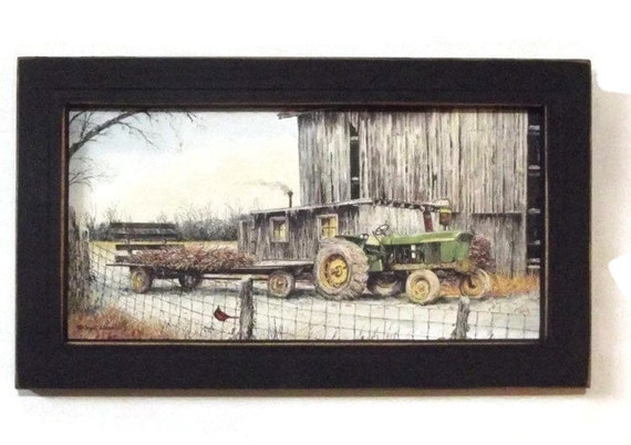 John Deere Wall Decor : John deere tractor country home decor farm