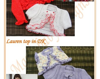 Lauren Top Knitting Pattern