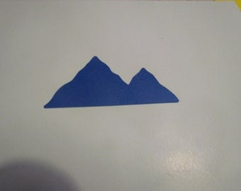 mountain die cuts