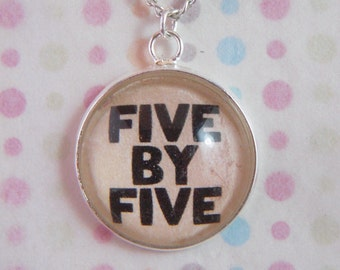 "Buffy The Vampire Slayer ""Five by Five"" Necklace"