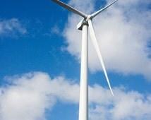 Photo of the Windmills, Windmill Print, Windmill Art, Windmill Decor, Sky Photography, Sky Art, Sky Print, Kodiak Alaska Photo 4x6-24x36