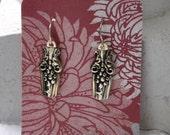 1908 LaVigne Spoon Earrings