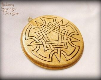Celtic Pentagram Wall Plaque or Altar Tile