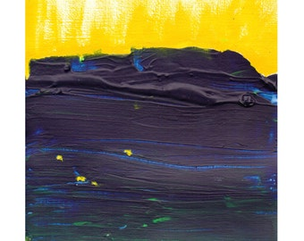 """Winter Solstice, daily painting 21st December, 2013,  5"""" x 5"""", acrylic on paper, by F. E. Clark abstract art winter light solstice"""