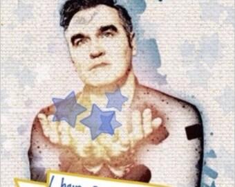 Morrissey Song Lyric Xmas Card