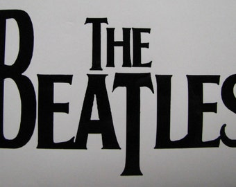 "The Beatles Decal / Sticker 5"" - any color -"