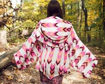 Arrows to Flowers Kimono