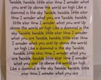 Twinkle Twinkle Sign