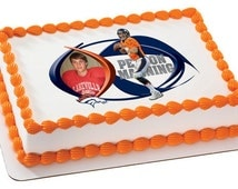 Peyton Manning NFL Football - Edible Cake and Cupcake Photo Frame For Birthdays and Parties! - D20082