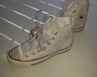 Sparkle & Pearl Converse