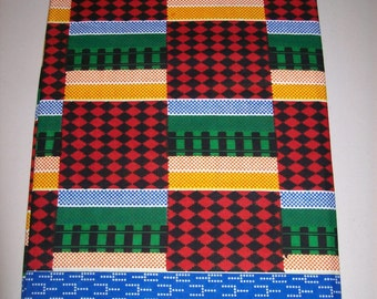 Kente Supreme African fabric per yard / African textiles/ African prints/ kente cloth fabrics