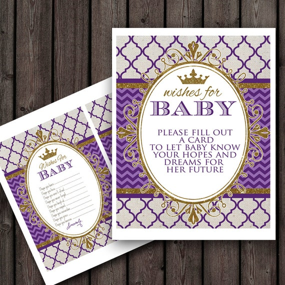 Royal Baby Shower Princess Baby Shower Games Wishes For