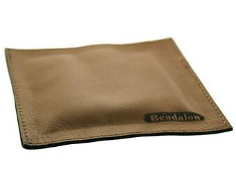 "Leather Anvil Block Pad 4"" x 4""  (DA5728)"