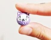 Mini Gato / Cat figurine / Handmade Polymer Clay