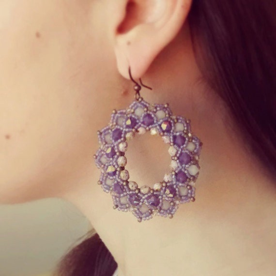 Favoloso Photo Tutorial ENG ita DIY earringsBluma earrings PDF AY33