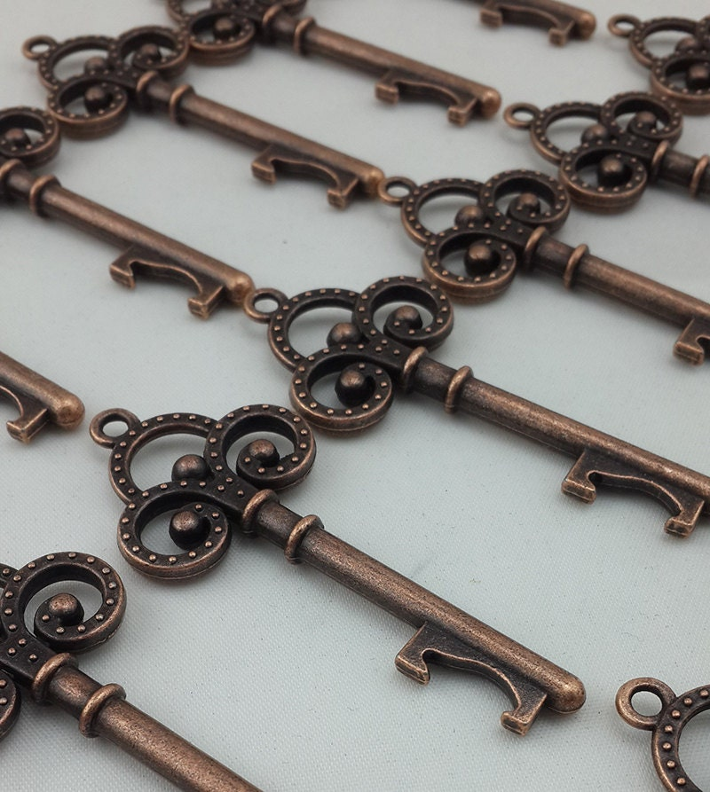 100x antique skeleton key bottle opener steampunk by vintage86keys. Black Bedroom Furniture Sets. Home Design Ideas