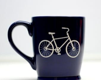 Bicycle Coffee Mugs,Christmas Gift,Bicyle Lover,Personalized Coffee Mug,Engraved Gift,Custom Coffee Mug,Gifts for Him,Gifts for Her