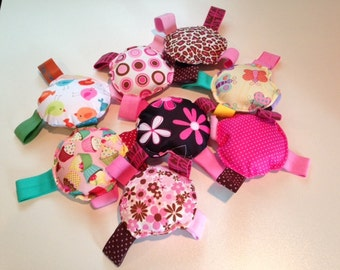 Assorted Babyville Boutique PUL baby toys
