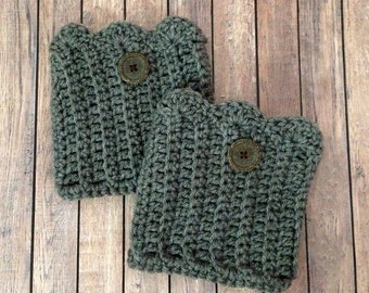 Adult Scalloped Edge Boot Cuffs