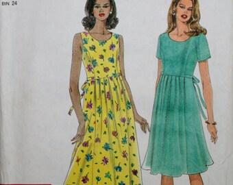 Simplicity 7701 Misses' Dress Sewing Pattern Uncut Size: 8-10-12-14-16-18