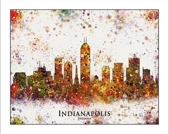 INDIANAPOLIS Skyline, Indianapolis, INDIANA, Map of Indianapolis, PURDUE, Colts, Indiana Pacers, Indianapolis 500