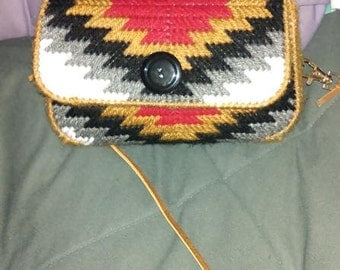 Southwestern Purse PATTERN for Plastic Canvas