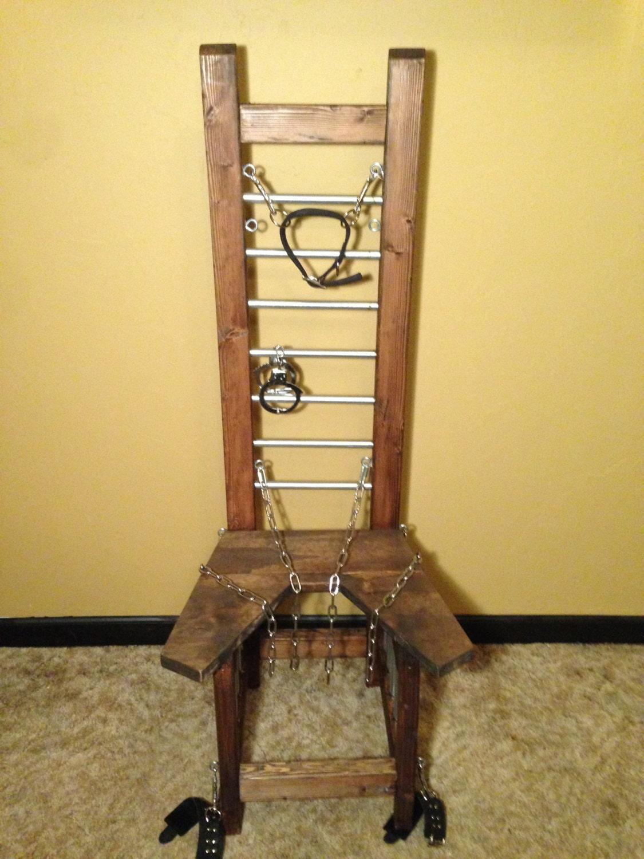unisex adult bondage chair