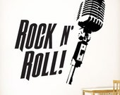 Rock N Roll | Wall Quote Decals