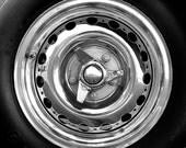 1956 Jaguar XKSS Wheel Portrait