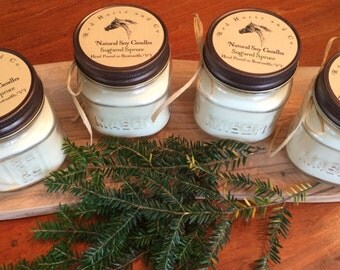 Sugared Spruce: Natural Soy Candle