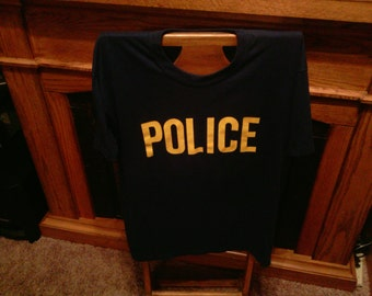 Vintage Police T-Shirt