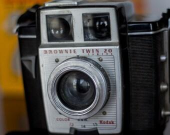 Brownie Twin 20 Camera, Vintage Camera, Vintage, Camera, Brownie Camera, Vintage Brownie Camera, Old Camera, Vintage Brownie, Vintage Decor