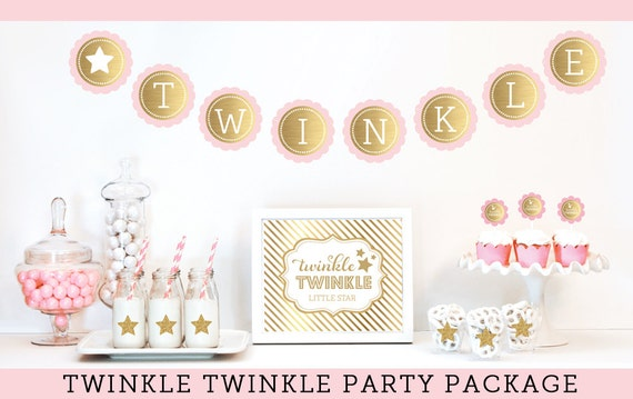 twinkle twinkle baby shower decorations twinkle