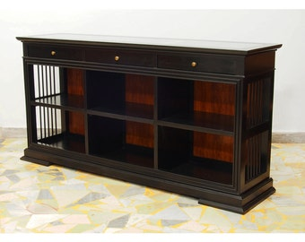 Glass topped Tv unit