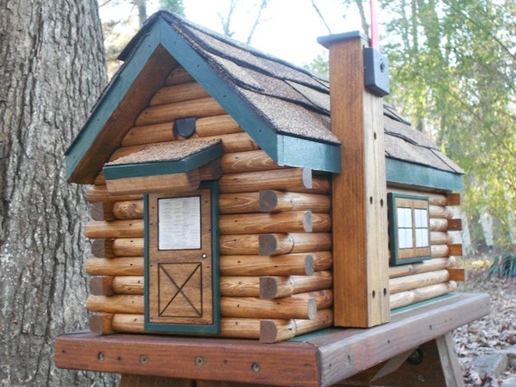 Log Cabin Mailbox Handcrafted Log Mailbox Rustic By