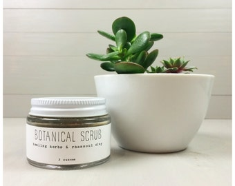 Botanical Facial Scrub - 4 Ounces