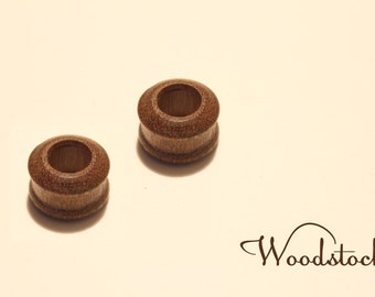 Wooden earplugs, plugs, flesh , any size