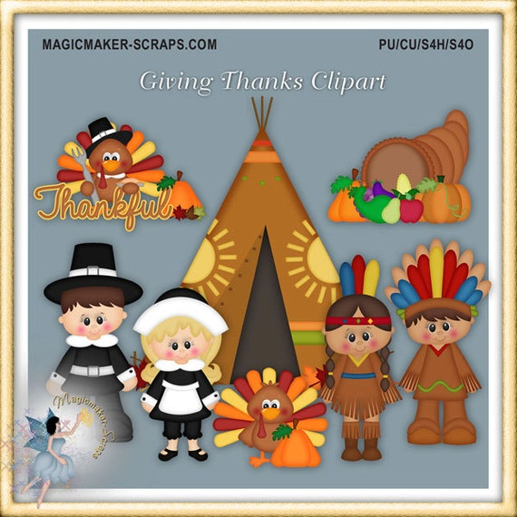 Thanksgiving Clipart Giving Thanks